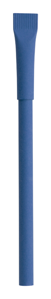 kuličkové pero z recyklovaného papíru s víčkem