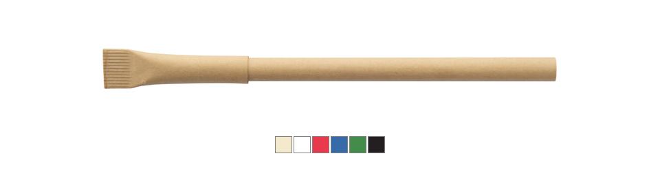 recyklované papírové kuličkové pero