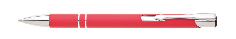 kovová propiska SIONA SOFT červená