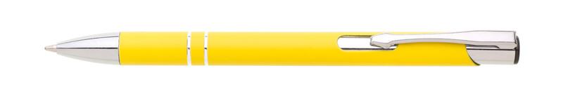 kovová propiska SIONA SOFT žlutá