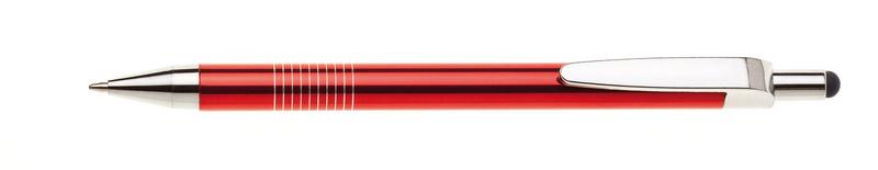 kovová propiska LAURIA TOUCH červená