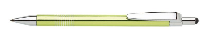 kovová propiska LAURIA TOUCH světle zelená
