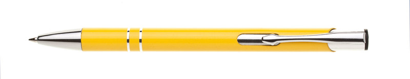 kovová propiska LOBIA žlutá