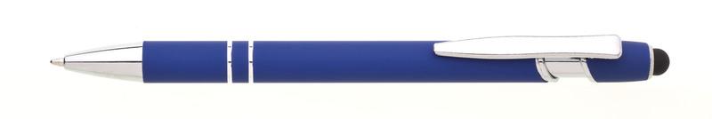 kovová propiska NATIO SOFT modrá