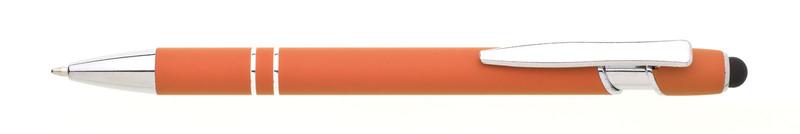 kovová propiska NATIO SOFT oranžová