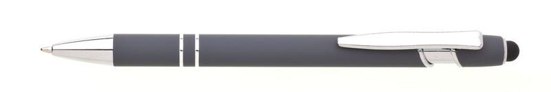 kovová propiska NATIO SOFT šedá
