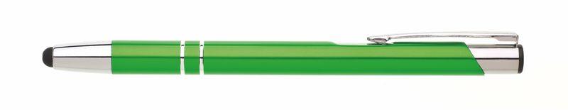 kovová propiska ORIN TOUCH světle zelená
