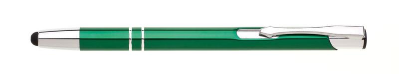 kovová propiska ORIN TOUCH zelená