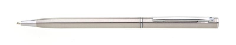 kovová propiska PIAZA STEEL stříbrná