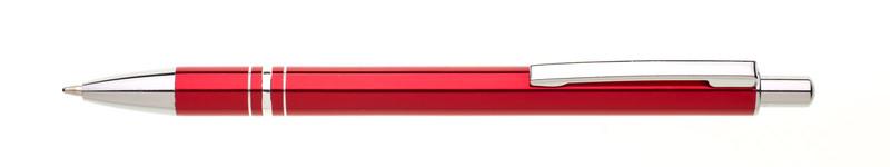 kovová propiska RENZA červená