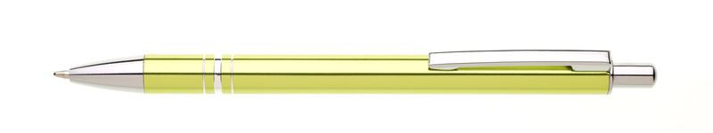 kovová propiska RENZA světle zelená