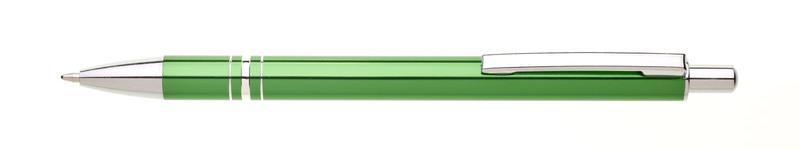 kovová propiska RENZA zelená