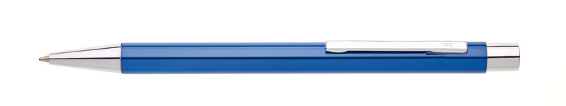 kovová propiska SFERA modrá