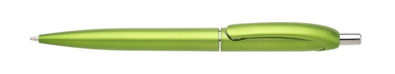 plastová propiska BRILA světle zelená
