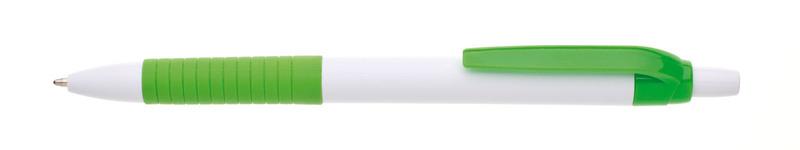plastová propiska GAMA světle zelená