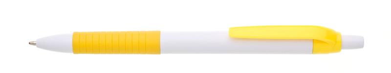 plastová propiska GAMA žlutá