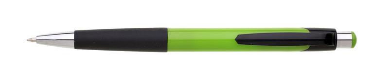 plastová propiska GARNA světle zelená