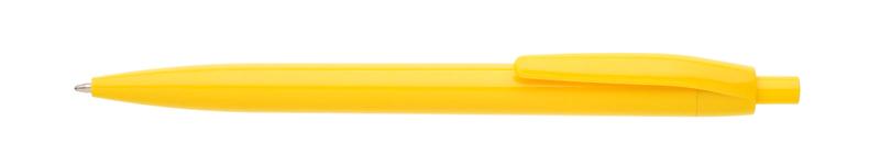 plastová propiska LORE žlutá