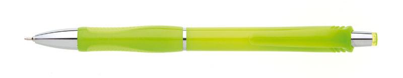 plastová propiska SALA světle zelená