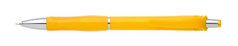 plastová propiska SALA žlutá