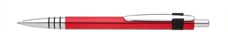 kovová propiska RUFUS červená