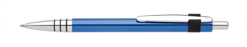 kovová propiska RUFUS modrá