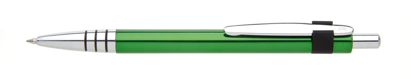 kovová propiska RUFUS zelená