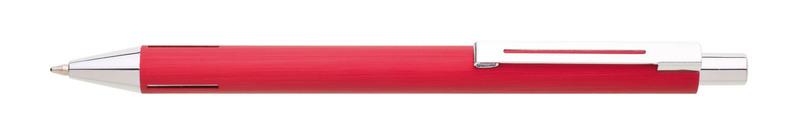 kovová propiska WIRE červená