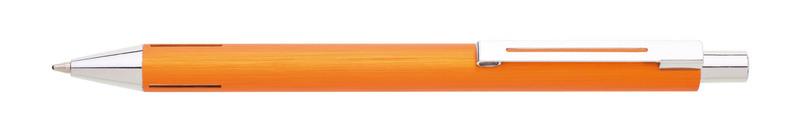 kovová propiska WIRE oranžová