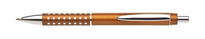 plastová propiska BLERA oranžovohnědá