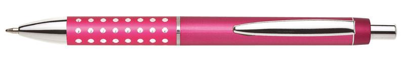 plastová propiska BLERA růžová