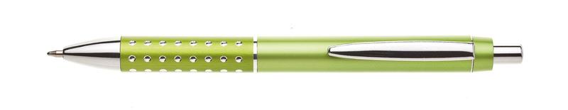 plastová propiska BLERA světle zelená