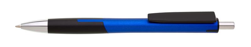 plastová propiska CHANEL modrá