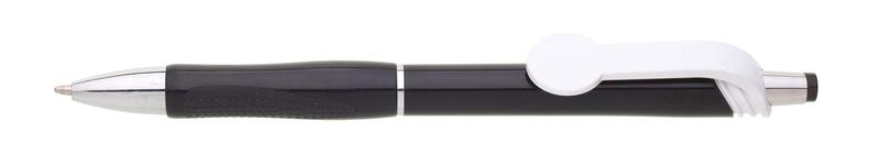 plastová propiska COLO plnobarevná černá