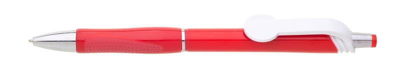 plastová propiska COLO plnobarevná červená
