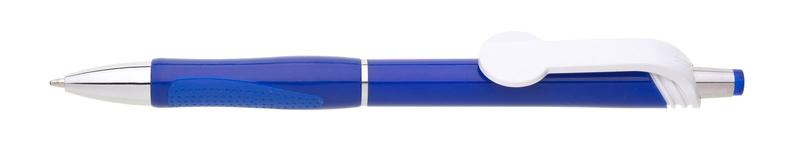 plastová propiska COLO plnobarevná modrá
