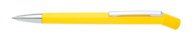 plastová propiska GIO žlutá