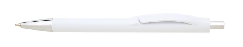 plastová propiska LINEA bílá