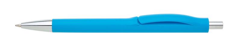 plastová propiska LINEA světle modrá
