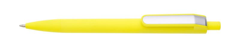 plastová propiska LONDI žlutá