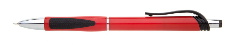 plastová propiska NERA červená