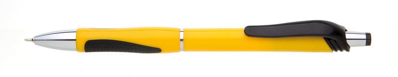 plastová propiska NERA žlutá
