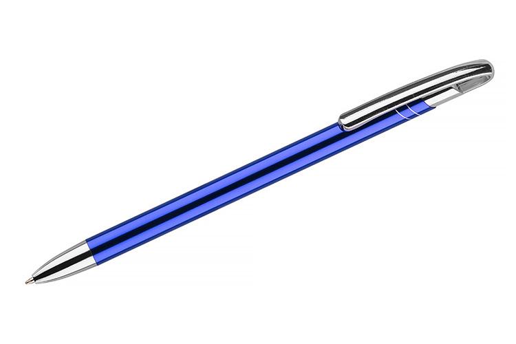 kovová propiska AVALO modrá