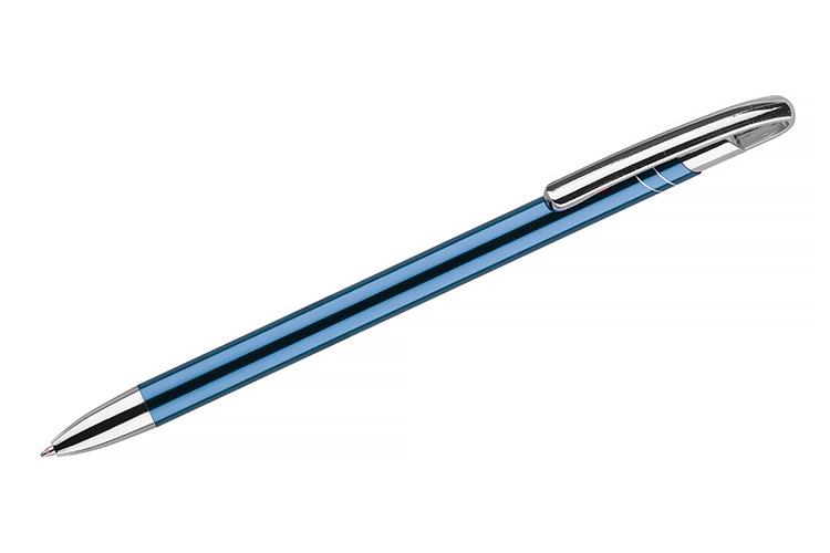 kovová propiska AVALO světle modrá