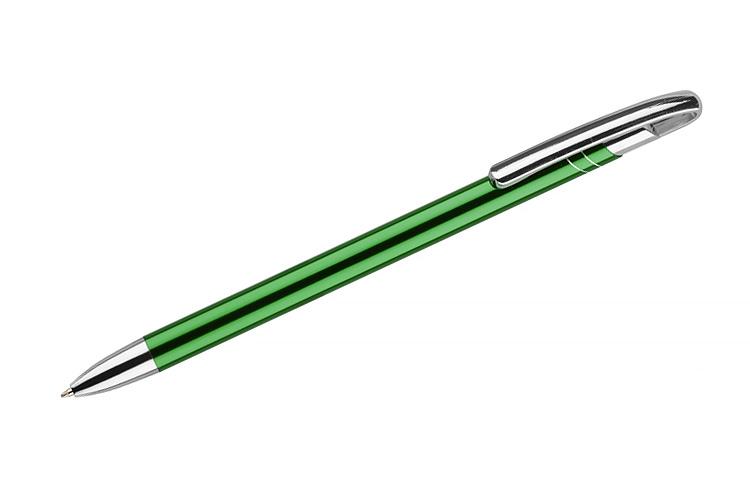 kovová propiska AVALO zelená
