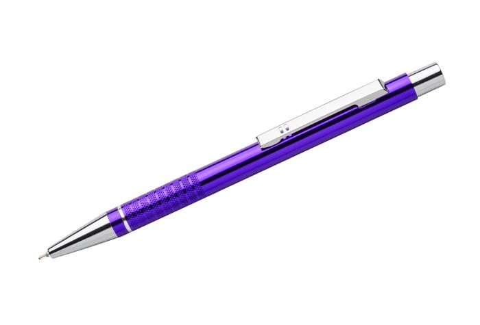 kovová propiska BONITO fialová