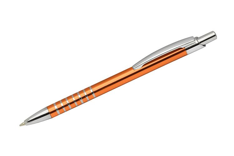 kovová propiska RING oranžová