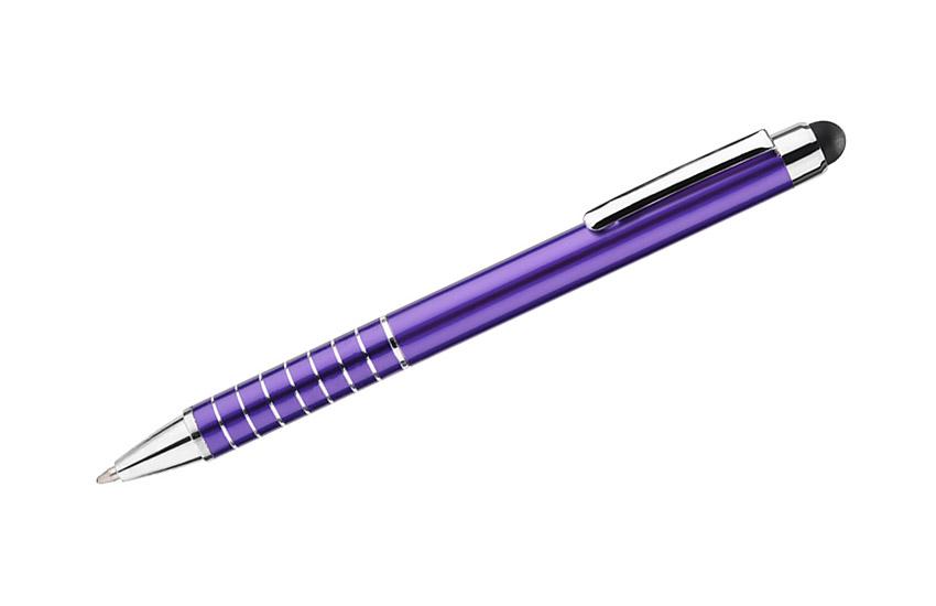 kovová propiska IMPACT fialová