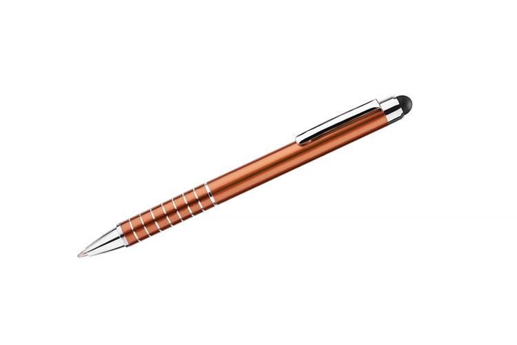 kovová propiska IMPACT oranžová