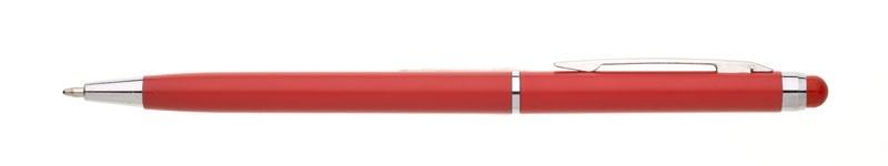 plastová propiska NOBLA červená